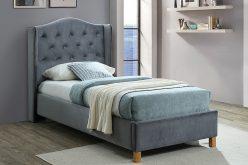 ASPEN 90 VELVET - łóżko tapicerowane - kolory 4