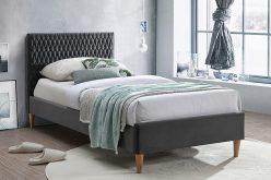 AZURRO 90 - łóżko tapicerowane - KOLORY 2