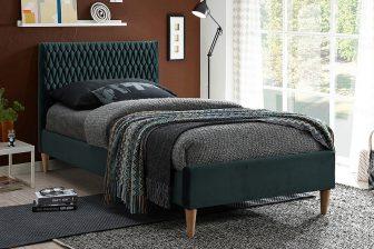 AZURRO 90 - łóżko tapicerowane - KOLORY 47