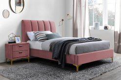 MIRAGE 90 VELVET - łóżko tapicerowane - kolory 3