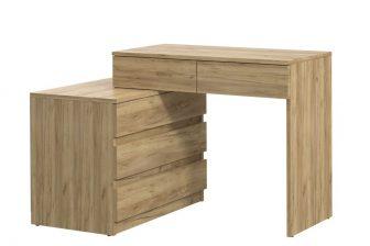 SIGMA biurko narożne z szufladami i komodą 8