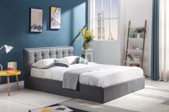 PADVA 160 - łóżko tapicerowane z pojemnikiem 33