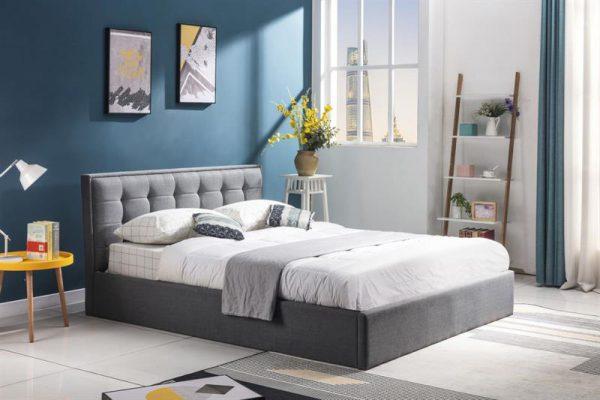 PADVA 120 - łóżko tapicerowane z pojemnikiem 1