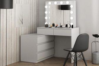 WENUS - toaletka 12 żarówek LED - 3 kolory 2