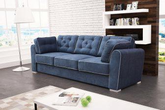DESIGN 3 - stylowa kanapa nierozkładana 24
