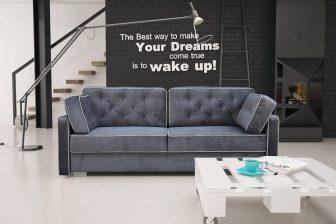 DESIGN NEW- stylowa kanapa rozkładana 25