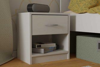 NEPO - szafka nocna z szufladą - 2 kolory 3