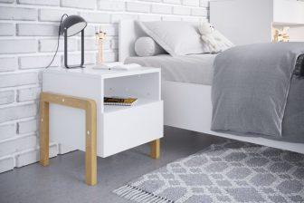 VICTUS - szafka stolik nocny w stylu skandynawskim 61