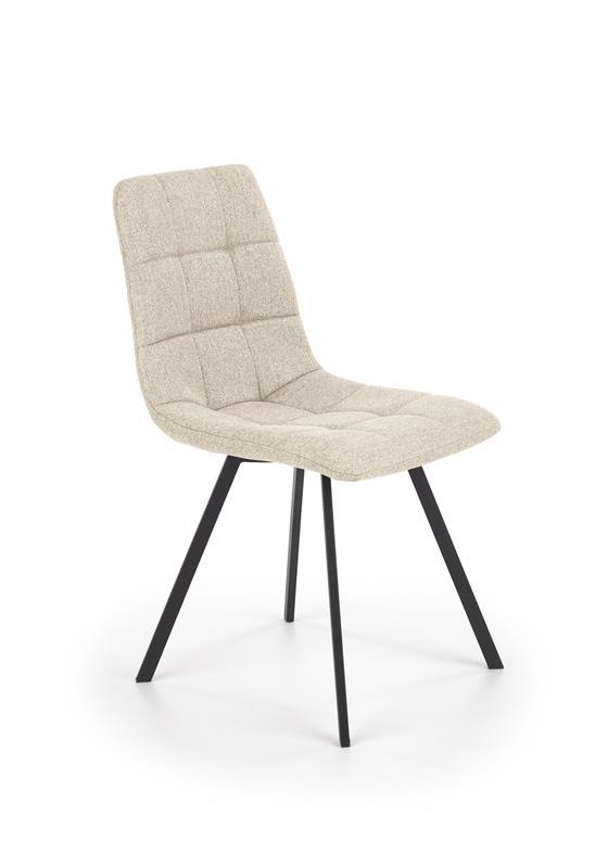 K402 krzesło kolor beżowy lub szary 1